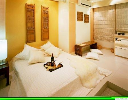 现代卧室装修效果图2