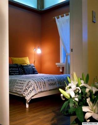 现代卧室装修效果图4
